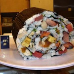 Voor deze sushi van 6 kilo moet u minstens 6 vrienden uitnodigen