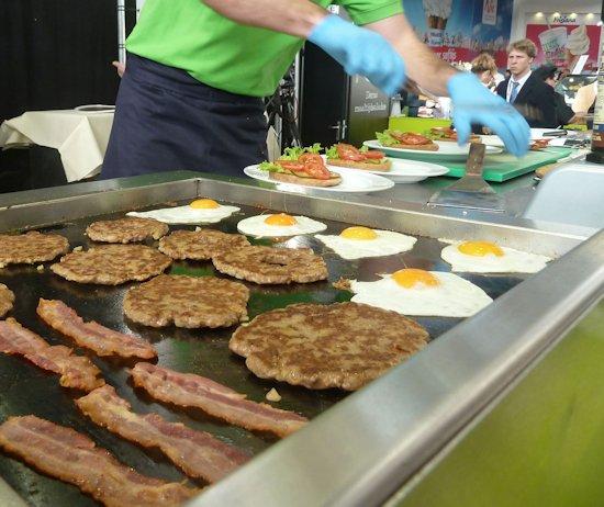 Voorbereiding lekkerste hamburger
