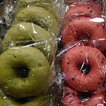 Bagels gemaakt van watermeloen