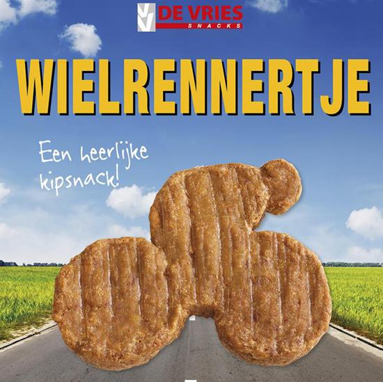 Wielrennertje De Vries Snacks