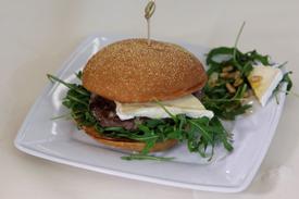 Zoete Brie Burger