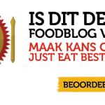 Herinnering: Is Snacknieuws het beste foodblog van 2013?