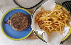 friet en burger