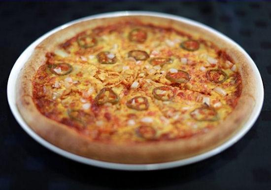 Heetste pizza ter wereld