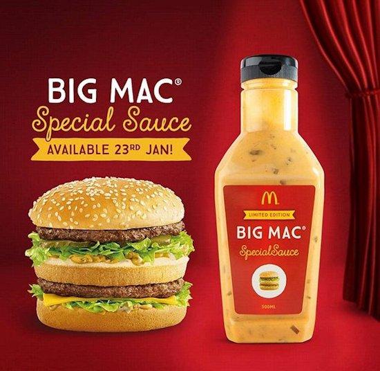 McDonald's Big Mac saus