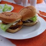 Hamburgers door crisis steeds kleiner